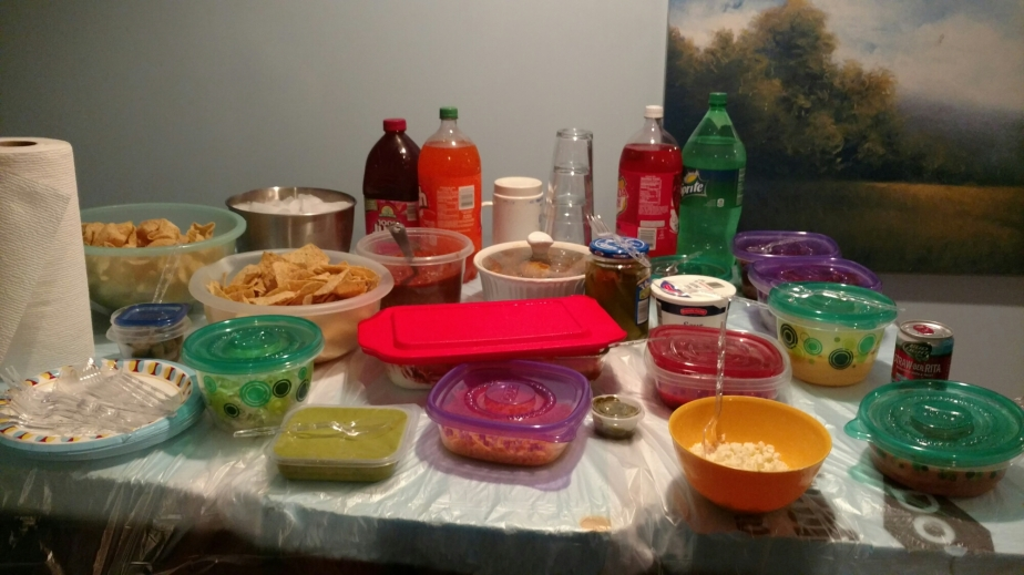 Superbowl Party Spread