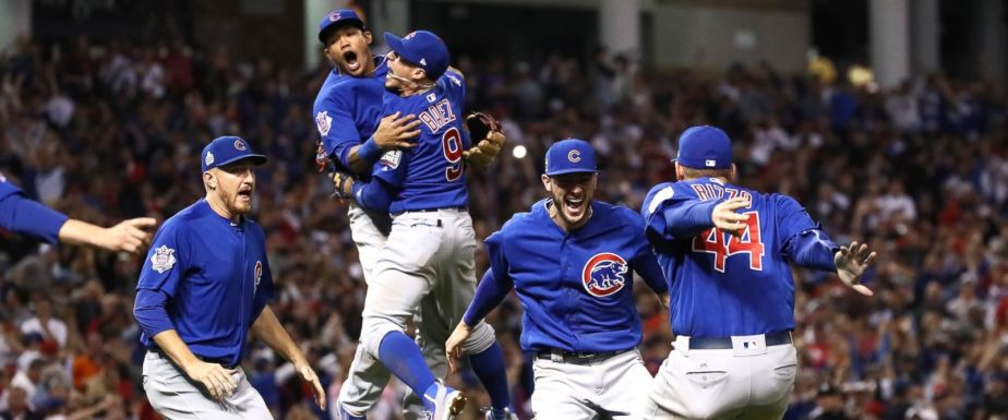 It's Over! Cubs Win WorldSeries